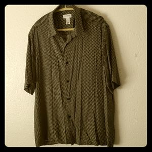 Concepts by Claiborne Patterned Shirt XL